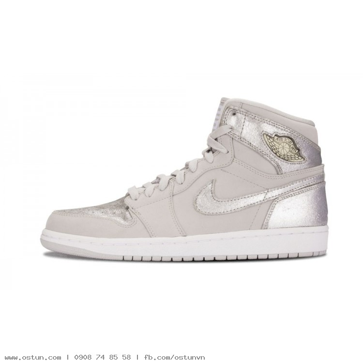 2c4721adc30c4a Air Jordan 1 Retro Hi Silver 25th Anniversary - Mens