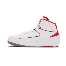 Air Jordan 2 Retro BG White Varsity
