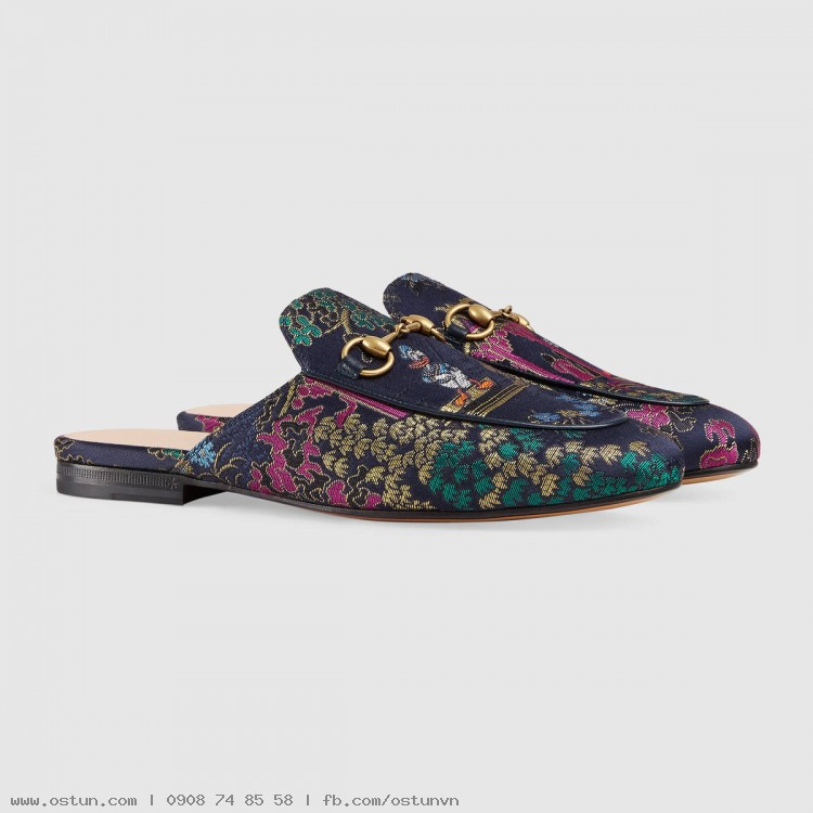 9d308a1538b ... Princetown jacquard slipper with Donald Duck - Women s Shoes ...