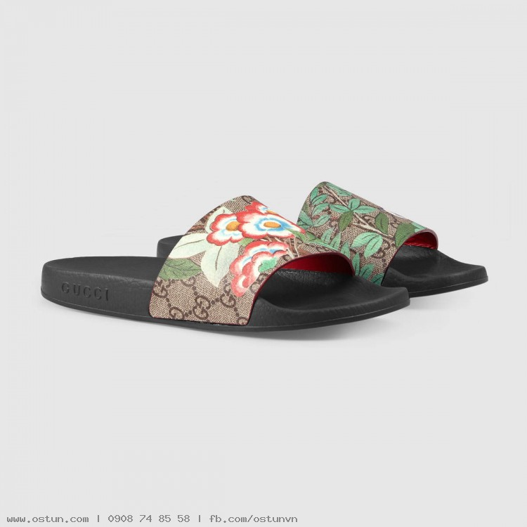 f8c7ecdbaf7 ... Women s Gucci Tian slide sandal - Women s Shoes ...