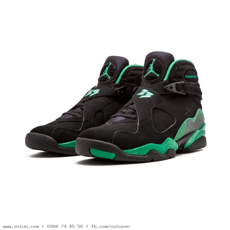 new arrival 9d408 ebd68 Air Jordan 8 Retro Sugar Ray - Mens
