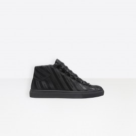 Men's Black High Sneakers